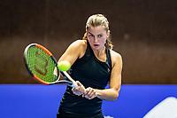 Alphen aan den Rijn, Netherlands, December 22, 2019, TV Nieuwe Sloot,  NK Tennis, Final womans single: Querine Lemoine (NED)<br /> Photo: www.tennisimages.com/Henk Koster