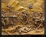 David Beheading Goliath Gates of Paradise Ghiberti Baptistry of San Giovanni Florence