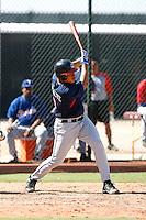 Alex Monsalve - Cleveland Indians 2009 Instructional League. .Photo by:  Bill Mitchell/Four Seam Images..