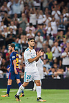 Marco Asensio Willemsen of Real Madrid reacts during their Supercopa de Espana Final 2nd Leg match between Real Madrid and FC Barcelona at the Estadio Santiago Bernabeu on 16 August 2017 in Madrid, Spain. Photo by Diego Gonzalez Souto / Power Sport Images