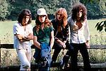 Queen 1975 Freddie Mercury, John Deacon, Roger Taylor and Brian May
