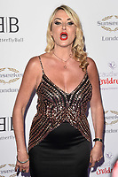 LONDON, UK. June 13, 2019: Nancy Sorrell arriving for Caudwell Butterfly Ball 2019 at the Grosvenor House Hotel, London.<br /> Picture: Steve Vas/Featureflash