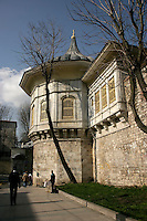 The Procession Pavillion or Alay Kosku in Gulhane, Istanbul, Turkey, from where the sultan secretly watched processions