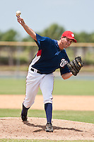 Billy Ott  of the Gulf Coast League Nationals during the game against the Gulf Coast League Mets June 27 2010 at the Washington Nationals complex in Viera, Florida.  Photo By Scott Jontes/Four Seam Images
