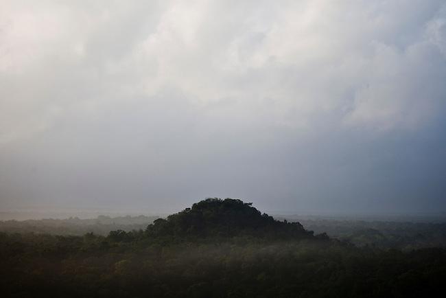 Guatemala, Petén, archeological site El Tintal