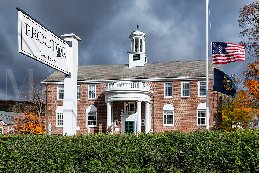 Proctor Preparatory School, Salisbury, New Hampshire, USA.