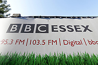 BBC Essex signage ahead of Essex CCC vs Surrey CCC, Specsavers County Championship Division 1 Cricket at The Cloudfm County Ground on 18th September 2019
