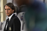 Roberto Mancini, Italy coach, <br /> during the friendly football match between Italy and Moldova at Artemio Franchi Stadium in Firenze (Italy), October, 7th 2020. Photo Andrea Staccioli/ Insidefoto