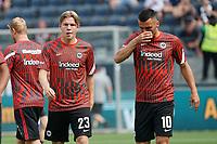 Jens Petter Hauge (Eintracht Frankfurt), Filip Kostic (Eintracht Frankfurt) - Frankfurt 21.08.2021: Eintracht Frankfurt vs. FC Augsburg, Deutsche Bank Park, 2. Spieltag Bundesliga