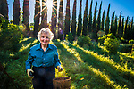 Cathy Bullock at home in Saratoga California, on Thursday, March 17, 2016.