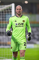 8th January 2021; Molineux Stadium, Wolverhampton, West Midlands, England; English FA Cup Football, Wolverhampton Wanderers versus Crystal Palace; Wolverhampton Wanderers Goalkeeper John Ruddy