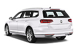 Car pictures of rear three quarter view of 2016 Volkswagen Passat-Variant GTE 5 Door wagon Angular Rear