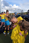 Hockeyroos sign autographs after the Sentinel Homes Trans Tasman Series hockey match between the New Zealand Black Sticks Women and the Australian Hockeyroos at Massey University Hockey Turf in Palmerston North, New Zealand on Sunday, 30 May 2021. Photo: Dave Lintott / lintottphoto.co.nz