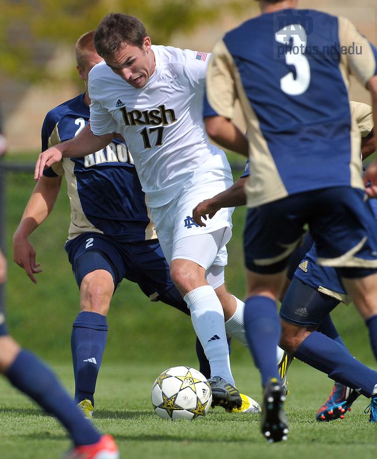 Sept. 9, 2012; Ryan Finley (17)..Photo by Matt Cashore/University of Notre Dame