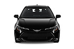 Car photography straight front view of a 2019 Toyota Corolla SE 5 Door Hatchback Front View
