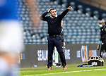 St Mirren v St Johnstone…09.05.21  Scottish Cup Semi-Final Hampden Park <br />Saints boss Callum Davidson gives instructions to his players<br />Picture by Graeme Hart.<br />Copyright Perthshire Picture Agency<br />Tel: 01738 623350  Mobile: 07990 594431