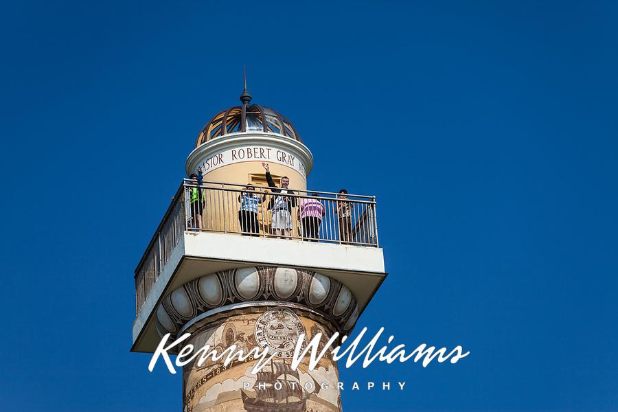 John Williams on Observation Deck, Astoria Column, Oregon.