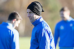 St Johnstone Training…18.11.16<br />Steven MacLean pictured during training this morning at McDiarmid Park ahead of tomorrow's game against Ross County<br />Picture by Graeme Hart.<br />Copyright Perthshire Picture Agency<br />Tel: 01738 623350  Mobile: 07990 594431