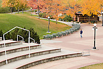 Caras Park in fall color in downtown Missoula, Montana
