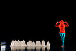 Childe, Essai Choregraphique Sur Une Symphonie De Berlioz....chorégraphie et interprétation : Jésus Sevrai..musique : Hector Berlioz, symphonie Harold en Italie..sculptures, lumières : Yann Le Bras..assistante chorégraphe et conseillère analyse fonctionnelle du corps dans le mouvement dansé : Nathalie Schulmann..costumes : Patricio Luengo..Le 14/11/2012..Lieu : Le Prisme..Ville : Elancourt..© Laurent Paillier / photosdedanse.com..All rights reserved