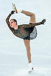 Natalia Popova of Ukraine compete in the Figure Skating Team Ice Dance Short Program during the 2014 Sochi Olympic Winter Games at Iceberg Skating Palace on February 8, 2014 in Sochi, Russia. Photo by Victor Fraile / Power Sport Images