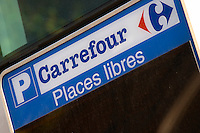 Carrefour Group corporate headquarters parking entrance paris france