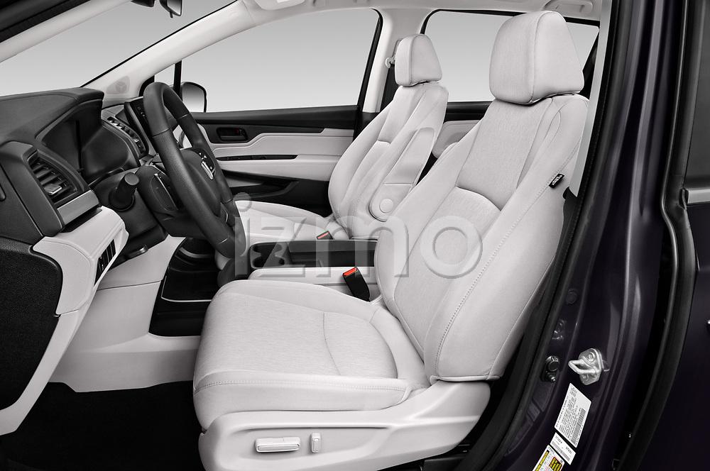 Front seat view of 2021 Honda Odyssey LX 5 Door Minivan Front Seat  car photos