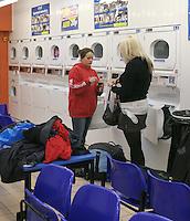 Campus laundromat, University of Surrey.