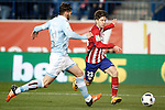 Atletico de Madrid's LucianoVietto (r) and Celta de Vigo's Sergi Gomez during Spanish Kings Cup match. January 27,2016. (ALTERPHOTOS/Acero)