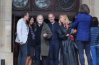 Jean-Jacques Debout - Hommage à Gonzague Saint Bris en l'église Saint-Sulpice à Paris, France - 28/9/2017