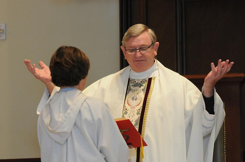 Holy Spirit School second graders' First Communion