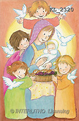 Interlitho, Soledad, CHRISTMAS CHILDREN, naive, paintings, Mary, Jesus, kids, dove(KL2320,#XK#) Weihnachten, Navidad, illustrations, pinturas