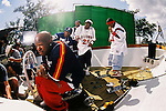 """Brian """"Baby"""" aka Birdman William, Co Founder of Cash Money Records on the the Big Tymers """"Oh Yeah"""" video set in New Orleans, Louisiana on May 16, 2000.  Photo credit: Presswire News/Elgin Edmonds New Orleans, Louisiana - May 8, 2002:  The Cash Money Records """"Big Tymers"""" shooting their video """"Oh Yeah"""" on Lake Poncthartrain.  Photo credit: Elgin Edmonds / Presswire News"""