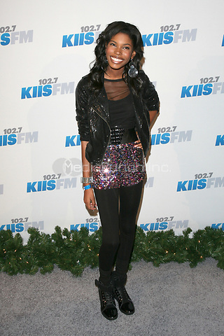 LOS ANGELES, CA - DECEMBER 01: Diamond White at KIIS FM's 2012 Jingle Ball at Nokia Theatre L.A. Live on December 1, 2012 in Los Angeles, California. Credit: mpi21/MediaPunch Inc.