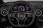 Car pictures of steering wheel view of a 2016 Audi TTS - 2 Door coupe Steering Wheel