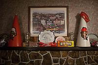 Memorabila at Laska's Pizza in Punxsutawney, PA.