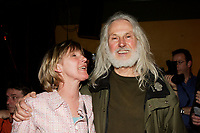 Sculptor Armand Vaillancourt<br /> t at  the Launch of  Marie Marine album. April 25 2006 at Divan Orange in Montreal.<br /> <br /> Marie Marine is the daughter of French Canadian singer Raymond Levesque.<br /> <br /> PHOTO : Agence Quebec Presse