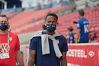 SANDY, UT - JUNE 10: Kellyn Acosta #23 of the United States before a game between Costa Rica and USMNT at Rio Tinto Stadium on June 10, 2021 in Sandy, Utah.