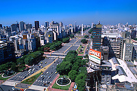 9th de Julio Avenue Worlds Widest Street, Buenos Aires , Argentina