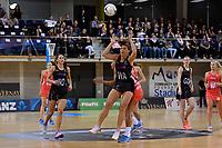 Silver Ferns' Grace Rasmussen in action during the International Netball - NZ Silver Ferns v England Roses at Te Rauparaha Arena, Porirua, New Zealand on Thursday 7 September 2017.<br /> Photo by Masanori Udagawa. <br /> www.photowellington.photoshelter.com