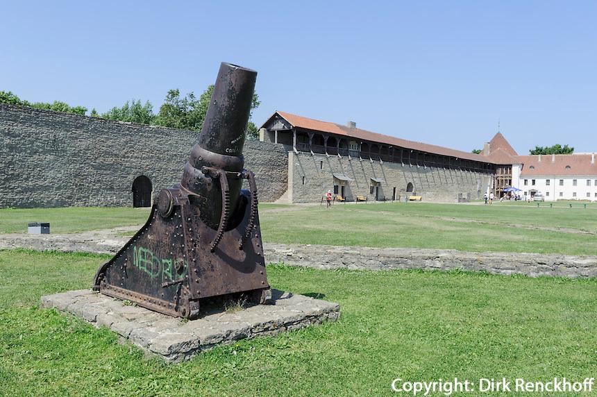 Hermanns-Festung ( Hermanni linnus) 13.Jh. in Narva, Estland, Europa