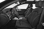 Front seat view of a 2018 Audi A6 Avant S Line Select Doors Door Wagon front seat car photos