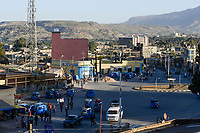ETHIOPIA, Tigray, town Adigrat / AETHIOPIEN, Tigray, Adigrat, Stadtzentrum