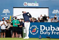 2nd July 2021; Mount Juliet Golf Club, Kilkenny, Ireland; Dubai Duty Free Irish Open Golf, Day Two; Rory Mcilroy of Northern Ireland tees off on the 17th hole
