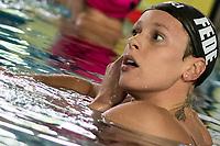 PELLEGRINI Federica Canottieri Aniene<br /> 200 stile libero donne<br /> Stadio del Nuoto Riccione<br /> Campionati Italiani Nazionali Assoluti Nuoto UnipolSai Primaverili Fin <br /> Riccione Italy 07-04-2017<br /> Photo Giorgio Scala/Deepbluemedia/Insidefoto