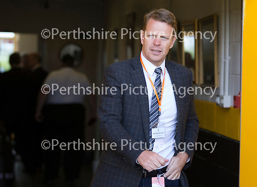 St Johnstone v Real Sociadad...12.07.15  Bayview, Methil (Home of East Fife FC)<br /> Kenny Moyes brother of David Moyes<br /> Picture by Graeme Hart.<br /> Copyright Perthshire Picture Agency<br /> Tel: 01738 623350  Mobile: 07990 594431
