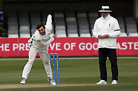 Daryl Mitchell in bowling action for Worcestershire during Essex CCC vs Worcestershire CCC, LV Insurance County Championship Group 1 Cricket at The Cloudfm County Ground on 9th April 2021