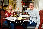 Stephen Nixon and Lisa Luldh enjoying the evening in the Brogue Inn on Friday.