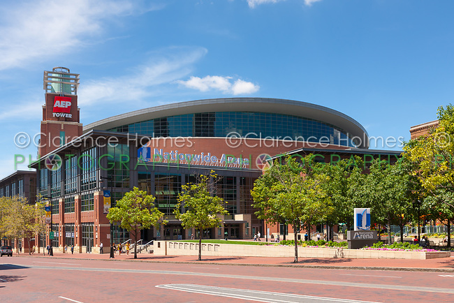 Nationwide Arena in Columbus, Ohio.