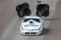 Feb 22, 2015; Chandler, AZ, USA; NHRA pro stock driver Greg Anderson during the Carquest Nationals at Wild Horse Pass Motorsports Park. Mandatory Credit: Mark J. Rebilas-